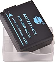 DSTE アクセサリ DMW-BLC12 DMW-BLC12E 互換 カメラ バッテリー 対応機種 Panasonic Lumix DMC-G5 G6 G7 GH2 FZ200 [並行輸入品]
