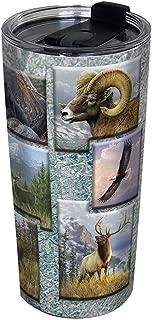 Indigo Falls 70050039 24Oz Rocky Mountain Wildlife Tumbler
