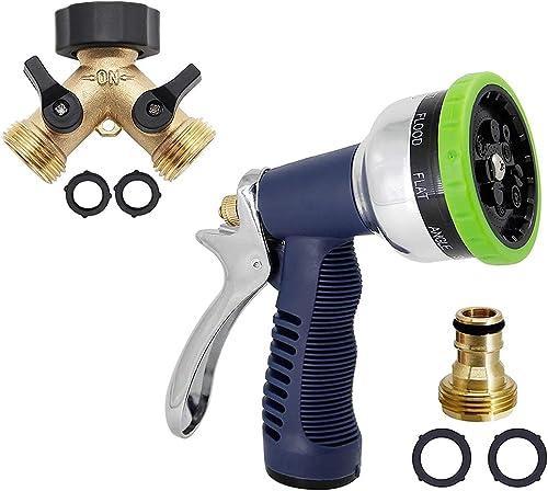 popular Twinkle Star Hose Splitter discount 2 2021 Way   Garden Hose Pattern Nozzle online