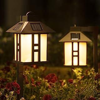 Solpex Solar Garden Lights, Garden Lights Solar Powered, Waterproof Solar Yard Lights for Lawn, Patio, Yard, Pathway, Walk...