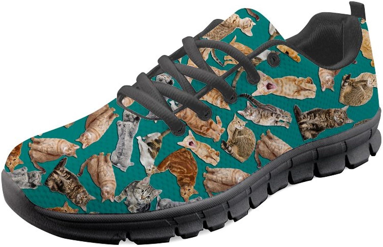 UNICEU Cute Pug Pattern Womens Sneakers Lightweight Lightweight Breathable Walking Running shoes