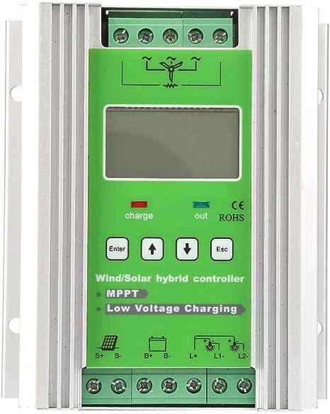 Garsent Lcd Wind Solar Hybridsystem Controller 12 Elektronik