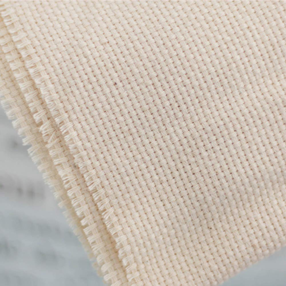 Wool Queen 26.3''x19.6'' Cotton Punch Needle Fabric Monk's Cloth for Rug-Punch/Punch Needle