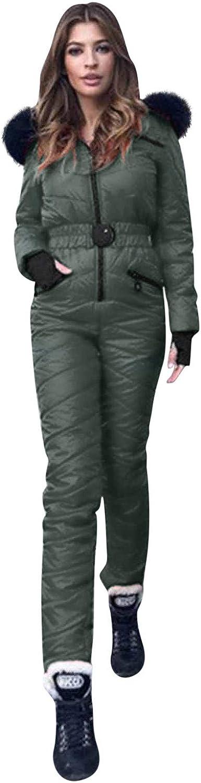 VEKDONE 即納 Women Winter Onesies Ski Sports 大幅値下げランキング Outdoor Jumpsuit Snowsui