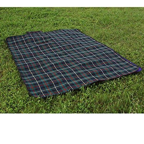 xiangshang shangmao Outdoor étanche Beach Camping Picnic Moisture Mat couvertures 200 * 150cm Vert foncé