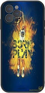 iPhone iPhone 12 Pro case, Basketball NBA Theme Kobe James,Flexible TPU Protective Cover,Ultrathin Anti-Fall Soft Shell Bl...