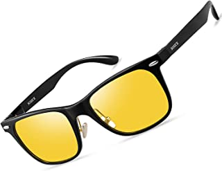 SOXICK Anti Glare Polarized HD METAL FRAME Night Vision Glasses for Driving