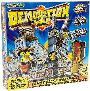 SmartLab Toys Demolition Lab Triple Blast Warehouse