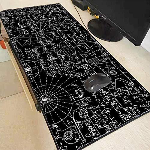 siqiwl Alfombrilla de ratón Blackboard Gran Mouse Pad con...