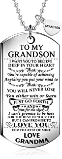 to my grandson dog tags
