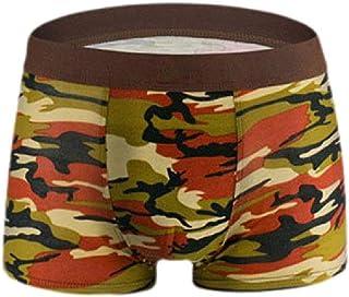 Howely Men's Underwear,Sexy Camouflage U Pouch Underwear Boxer Brief