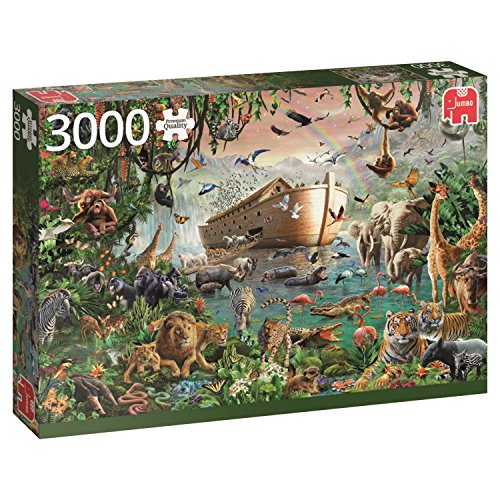 Jumbo 18326 - The Ark Noah - 3000 onderdelen - Nieuw