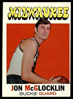 Basketball NBA 1971-72 Topps #74 Jon McGlocklin EX/NM Bucks