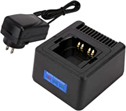 Single Unit Rapid Charger for Motorola Radios APX6000 APX6000XE APX6000LI APX7000 APX7000XE APX8000 APX8000XE APX8000H APX8000HXE (APX 6000 7000 8000), Fast Charge, Temperature Management