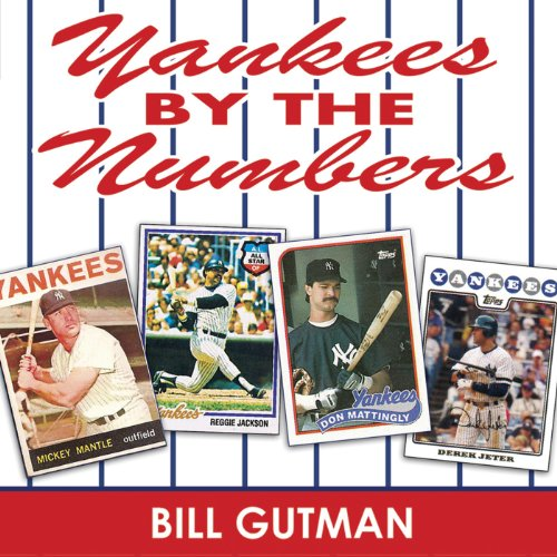 Yankees by the Numbers audiobook cover art