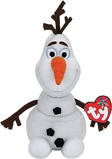 NEW Disneys Frozen Olaf Ty Beanie Babies Baby Snowman Plush
