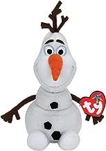 Disney's Frozen Olaf Ty Beanie Babies Baby Snowman Plush