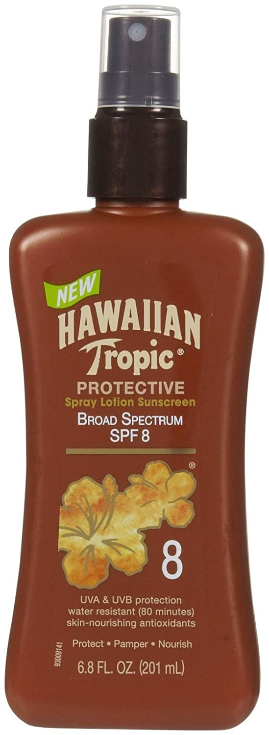 Over item handling ☆ Hawaiian Tropic Protective New product type Tanning Pump Lotion oz 8 6.8 SPF fl