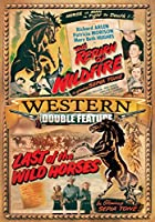 Western: Return of Wild Fire / Last of Wild Horses [DVD] [Import]
