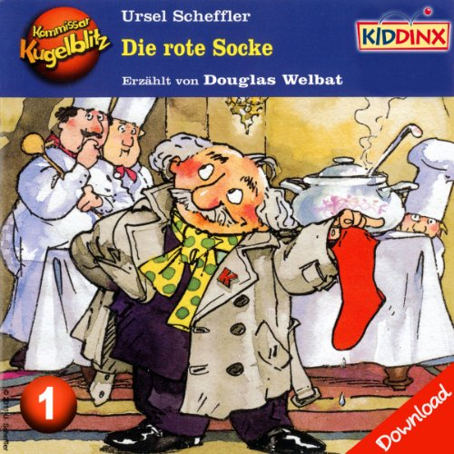 Die rote Socke audiobook cover art