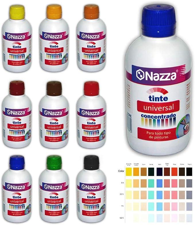 Tintes Universales Concentrados para Pinturas de todo tipo | Muy recomendado también para Resinas y barnices al Agua | Color Azul | Formato de 250 ml