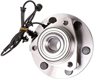 cciyu 515127 SP500704 Wheel Hub and Bearing Assembly Replacement for fit Infiniti QX80 Infiniti QX56 Front Wheel Hubs with ABS 6 Lugs (1)