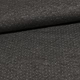 Doubleface Punkte Jacquard Jersey Bio-Stoff Baumwolle kba