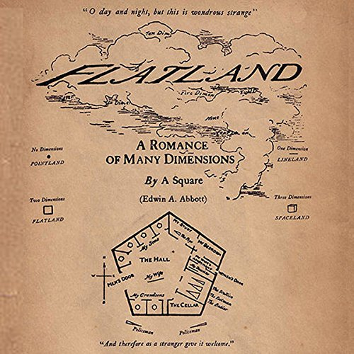 Flatland: A Romance of Many Dimensions audiobook cover art