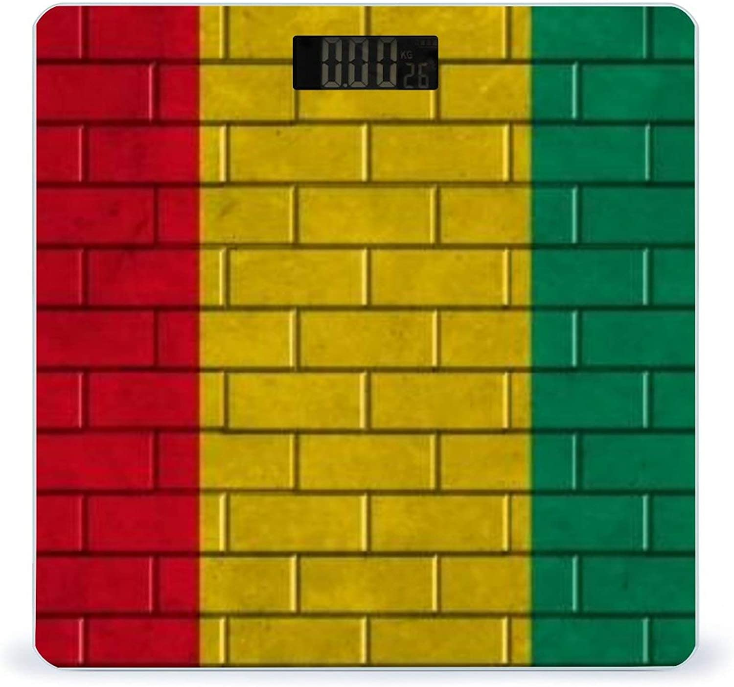 CHUFZSD Guinea Flag Painted On A Brick Wall Accurate Financial sales sale Max 54% OFF Smar Highly
