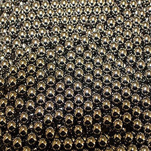 G8DS 50 Stück Marken-Schleudermunition Kaliber 12,5 mm Stahlkugeln Schleuder Munition für Katapult