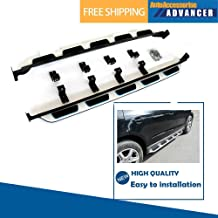 AAAdvancer Fits for Audi Q7 2006-2015 Stainless Steel Running Boards Side Steps Nerf Bar Side Bar Protector Bar