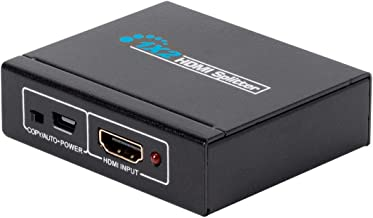 Monoprice Blackbird 4K Mini USB-Powered 1x2 HDMI Splitter