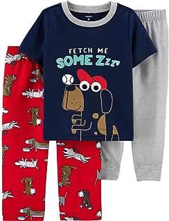 Carter's 3-Piece Poly Pajamas (Dog, 4T)