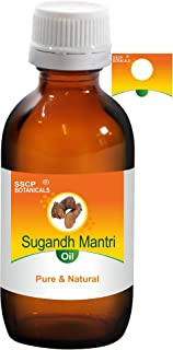 SSCP Botanicals Sugandh Mantri Pure & Natural Essential Oil (Homalomena aromatica) (1000 ml (33.80 Oz) Aluminium Bottle)
