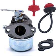 FitBest Carburetor with Primer Bulb Fuel Filter for Tecumseh 640098A 640092 632557 632560 HSK600 HSK635 TH098SA 3 hp 2 Cycle Engines