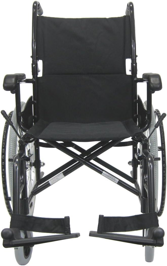 Karman Healthcare LT-980-BK-E Aluminum Sales results No. 1 Lightweight Wheelch Max 78% OFF Ultra