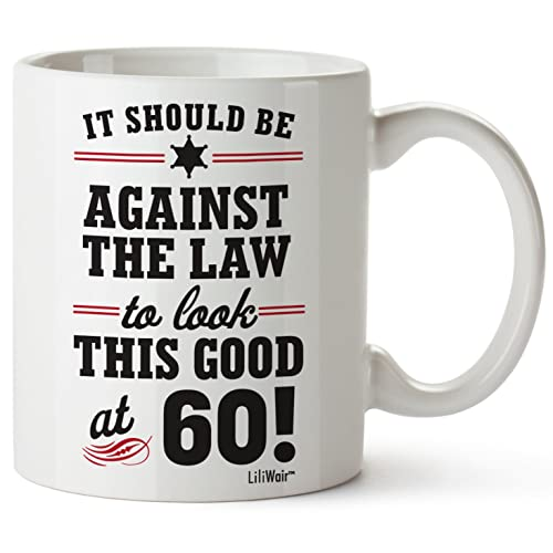 60th Birthday Gifts For Women Sixty Years Old Men Gift Mug Happy Funny 60 Mens Womens