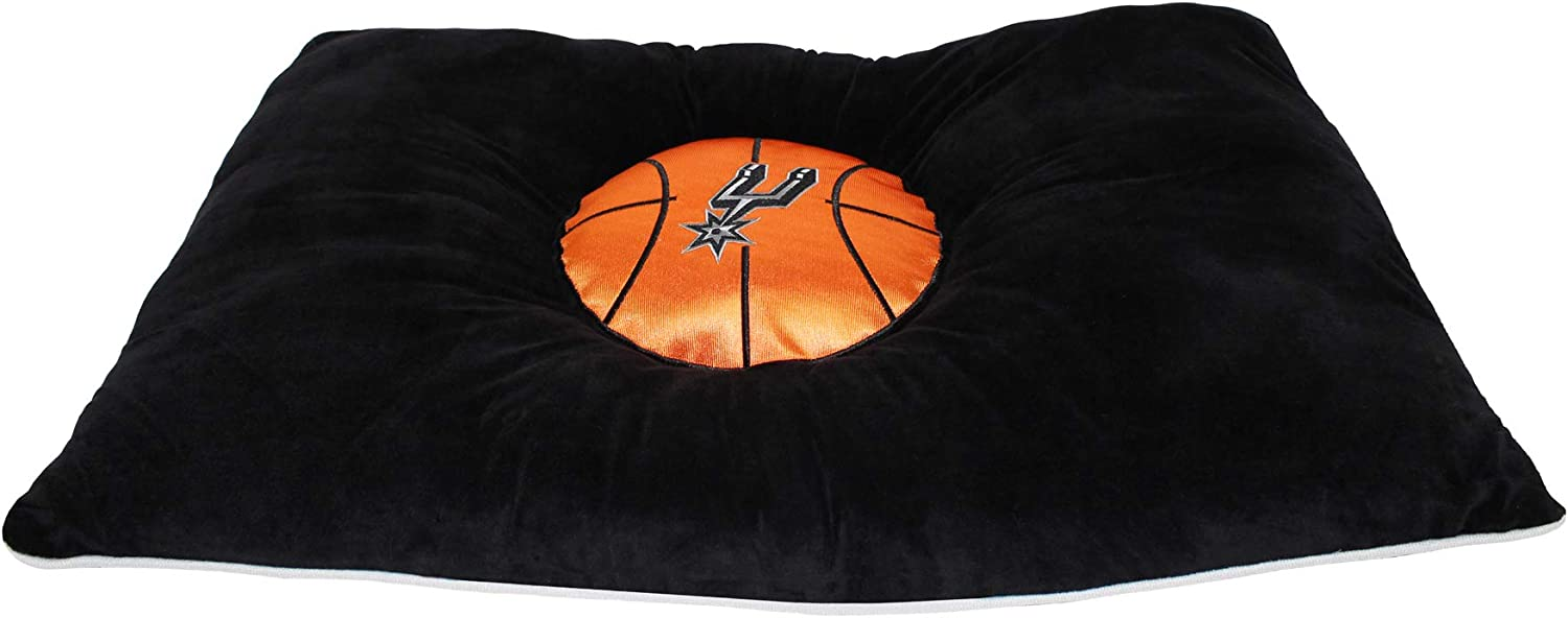NBA SAN Antonio Spurs Dog Mattress Pillow Bed Basketball Plush Soft Pet Bed
