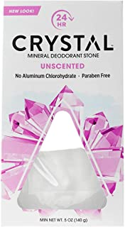 Crystal Deodorants Crystl Body,Rock Deod, 2 pk