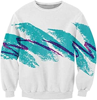 RAISEVERN Uniesx 90's Vintage Jazz Solo Cup Shirt Hipster Novelty Sweater Sweatshirt, Jazz, XX-Large