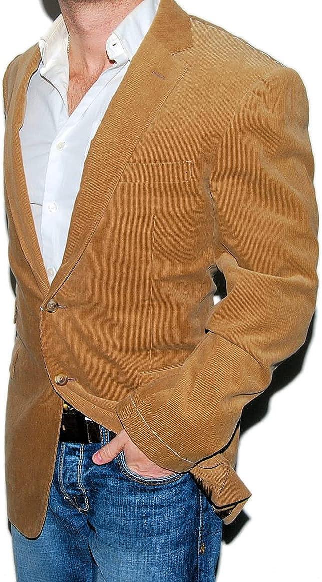 Ralph Lauren Purple Label Mens Corduroy Blazer Sport Coat Jacket Brown Italy 42R $2,195