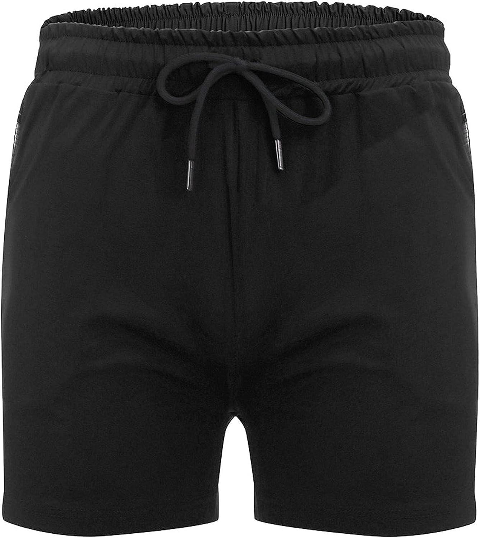 YUNDAN Swim Trunks Mens Summer Casual Quick Dry Beach Shorts Fashion Solid Surfing Lounge Athletic Swimwear Bathing Suits