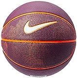 Bola de Basquete Swoosh Mini Nike 3 Bordeaux/Total Crimson