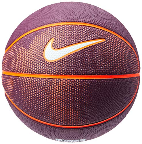 Bola de Basquete Swoosh Mini Nike 3 Bordeaux/Total Crimson