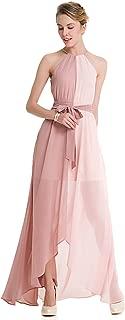 Women's Color-Block Chiffon Loose Long Maxi Dress