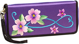 HangErFeng Women's Handbag Silk Hand Embroidered Chinese Wallet Gift Packaging H1056