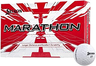 Srixon Marathon Longer Distance & Durability Tough Cover Golf Balls, 6 boxes