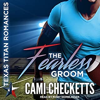The Fearless Groom audiobook cover art