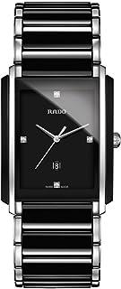 ساعت مچی مردانه سرامیک و استیل ضد زنگ Rado Integrated Jubile دو رنگ سیاه - R20206712