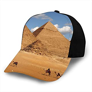 Great Pyramid Egypt Classic Baseball Cap Men Women Dad Hat Twill Adjustable Size Black